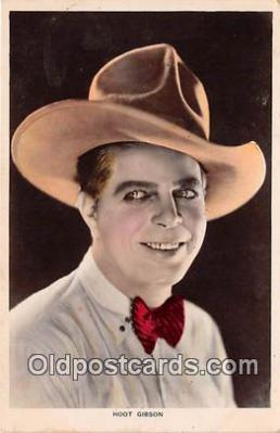 Hoot Gibson Postcard Post Card