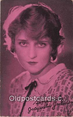 act007198 - Jacquelon Gadsdon Movie Actor / Actress, Entertainment Postcard Post Card
