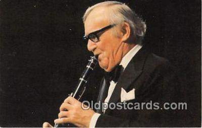 act007221 - Benny Goodman Movie Actor / Actress, Entertainment Postcard Post Card