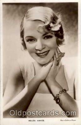 act008013 - Hellen Hayes Actress/ Actor Postcard Post Card Old Vintage Antique