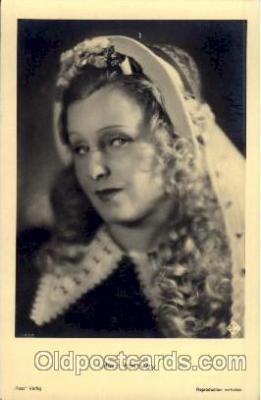 act008110 - Lilian Harvey Postcard Post Card