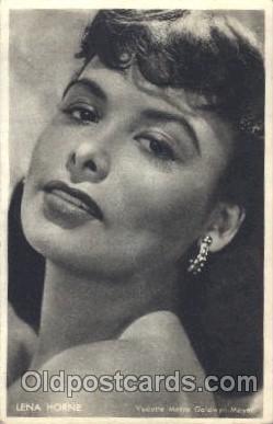 act008144 - Lena Horne Non Postcard, Actor, Actress, Movie Star, Postcard Post Card