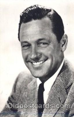 act008177 - William Holden Actor, Actress, Movie Star, Postcard Post Card