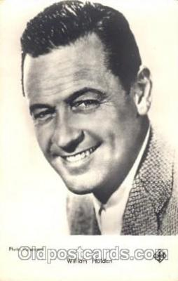 act008181 - William Holden Actor, Actress, Movie Star, Postcard Post Card