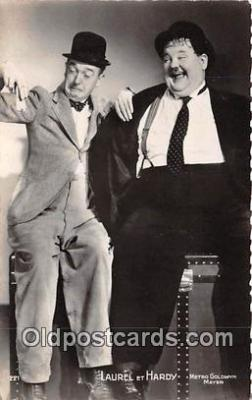 act008190 - Laurel & Hardy Movie Actor / Actress, Entertainment Postcard Post Card