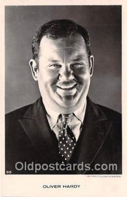 act008191 - Oliver Hardy Movie Actor / Actress, Entertainment Postcard Post Card