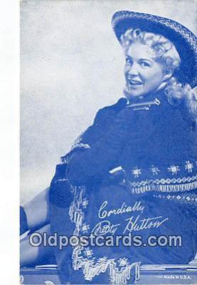 act008204 - Betty Hutton Movie Actor / Actress, Entertainment Postcard Post Card