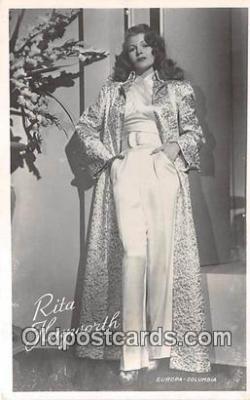 act008238 - Rita Hayworth Movie Actor / Actress, Entertainment Postcard Post Card
