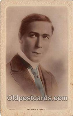 act008255 - William S Hart Movie Actor / Actress, Entertainment Postcard Post Card