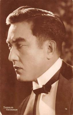 act008262 - Sessue Hayakawa Movie Star Actor Actress Film Star Postcard, Old Vintage Antique Post Card