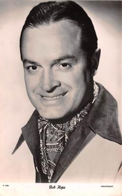 act008297 - Bob Hope Movie Star Actor Actress Film Star Postcard, Old Vintage Antique Post Card