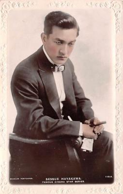 act008301 - Sessue Hayakawa Movie Star Actor Actress Film Star Postcard, Old Vintage Antique Post Card