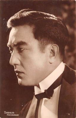 act008307 - Sessue Hayakawa Movie Star Actor Actress Film Star Postcard, Old Vintage Antique Post Card