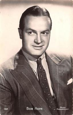 act008308 - Bob Hope Movie Star Actor Actress Film Star Postcard, Old Vintage Antique Post Card