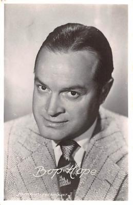 act008316 - Bob Hope Movie Star Actor Actress Film Star Postcard, Old Vintage Antique Post Card