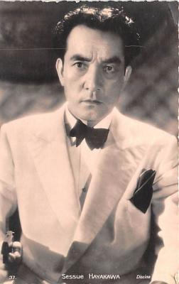 act008320 - Sessue Hayakawa Movie Star Actor Actress Film Star Postcard, Old Vintage Antique Post Card