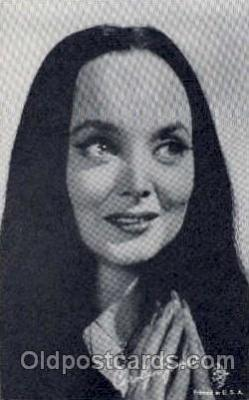 act010004 - Carolyn Jones  Actress/ Actor Postcard Post Card Old Vintage Antique