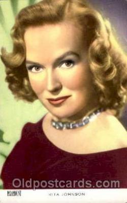 act010005 - Rita Johnson  Actress/ Actor Postcard Post Card Old Vintage Antique