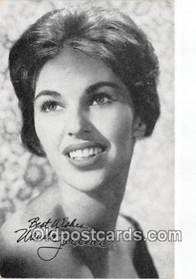 act010020 - Wanda Jackson Movie Actor / Actress, Entertainment Postcard Post Card