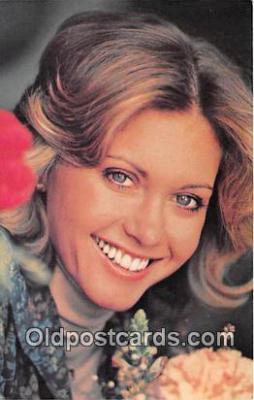 act010021 - Olivia Newton John Movie Actor / Actress, Entertainment Postcard Post Card