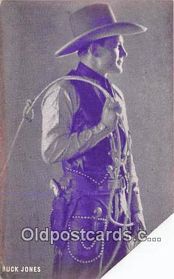 act010023 - Buck Jones Movie Actor / Actress, Entertainment Postcard Post Card