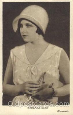 act011028 - Barbara Kent Actor, Actress, Movie Star, Postcard Post Card