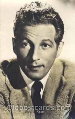 act011030 - Danny Kaye Actor, Actress, Movie Star, Postcard Post Card