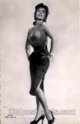 act012041 - Gina Lollobrigida Actress / Actor Postcard Post Card Old Vintage Antique