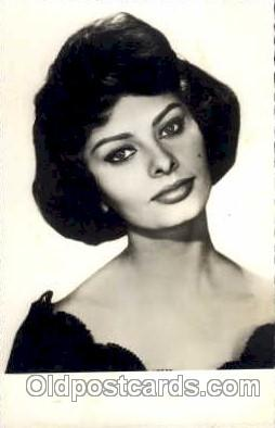 act012049 - Sophia Loren Actress / Actor Postcard Post Card Old Vintage Antique