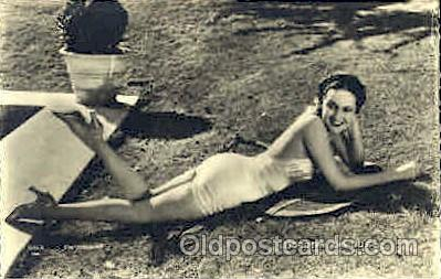 act012079 - Dorothy Lamour Actress / Actor Postcard Post Card Old Vintage Antique