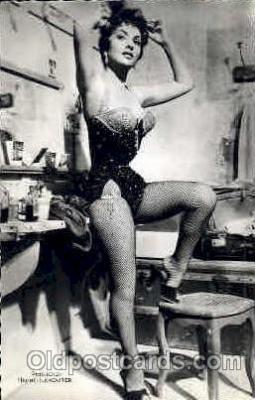 act012086 - Gina Lollobrigida Actress / Actor Postcard Post Card Old Vintage Antique