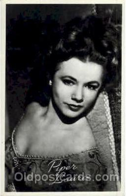 act012108 - Piper Laurie Actress / Actor Postcard Post Card Old Vintage Antique