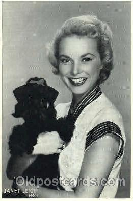 act012126 - Janet Leigh Actor, Actress, Movie Star, Postcard Post Card