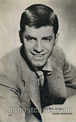 act012143 - Jerry Lewis Actor, Actress, Movie Star, Postcard Post Card