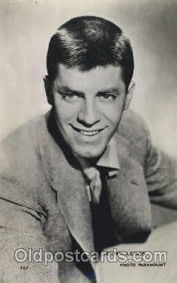act012147 - Jerry Lewis Actor, Actress, Movie Star, Postcard Post Card