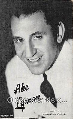 act012162 - Abe Lyman Movie Actor / Actress, Entertainment Postcard Post Card