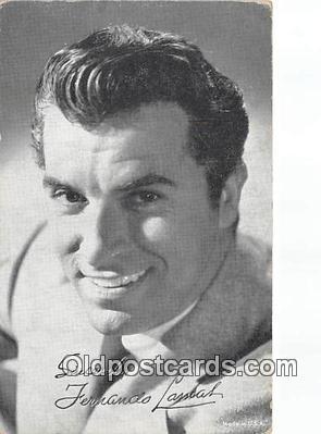 act012176 - Fernando Lawas Movie Actor / Actress, Entertainment Postcard Post Card