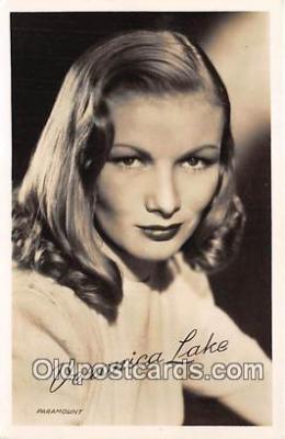 act012177 - Veronica Lake Movie Actor / Actress, Entertainment Postcard Post Card