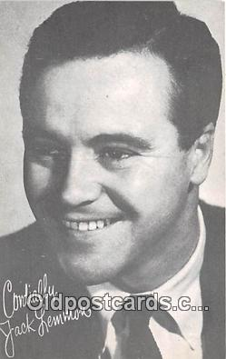 act012196 - Jack Lemmon Movie Actor / Actress, Entertainment Postcard Post Card