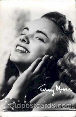 act013037 - Terry Moore  Actress / Actor Postcard Post Card Old Vintage Antique