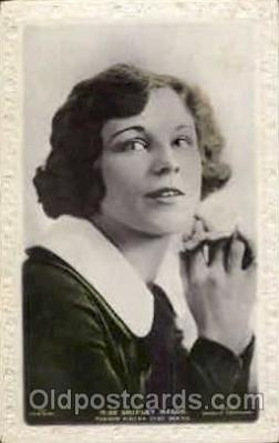 act013055 - Shirley Mason Actress / Actor Postcard Post Card Old Vintage Antique