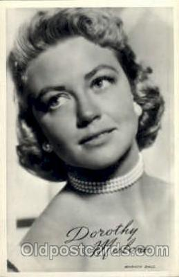 act013062 - Dorothy Malone Actress / Actor Postcard Post Card Old Vintage Antique