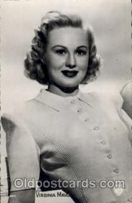 act013068 - Virginia Mayo  Actress / Actor Postcard Post Card Old Vintage Antique