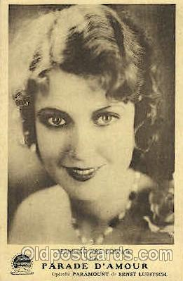 act013077 - Jeanette MacDonald Actor, Actress, Movie Star, Postcard Post Card