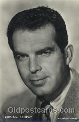 act013093 - Fred MacMurray Actor, Actress, Movie Star, Postcard Post Card