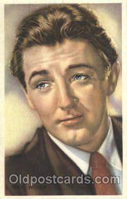 act013096 - Robert Mitchum Trade Card Actor, Actress, Movie Star, Postcard Post Card