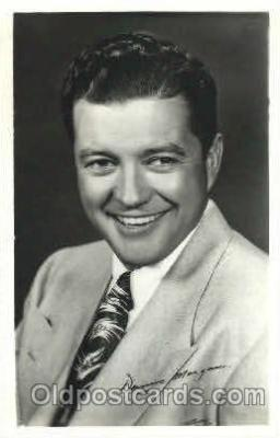 act013098 - Dennis Morgan Actor, Actress, Movie Star, Postcard Post Card