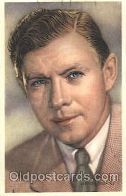 act013105 - George Murphy Trade Card Actor, Actress, Movie Star, Postcard Post Card