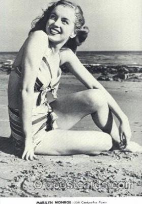 act013120 - Post Card Produced 1984 - 1988, Actress, Model, Marilyn Monroe Postcard