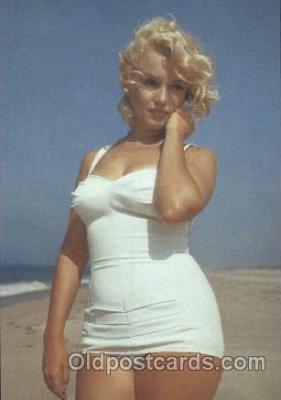 act013126 - Post Card Produced 1984 - 1988, Actress, Model, Marilyn Monroe Postcard